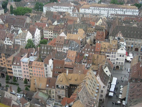 View from Strasbourg cathedral | by Harry Wood
