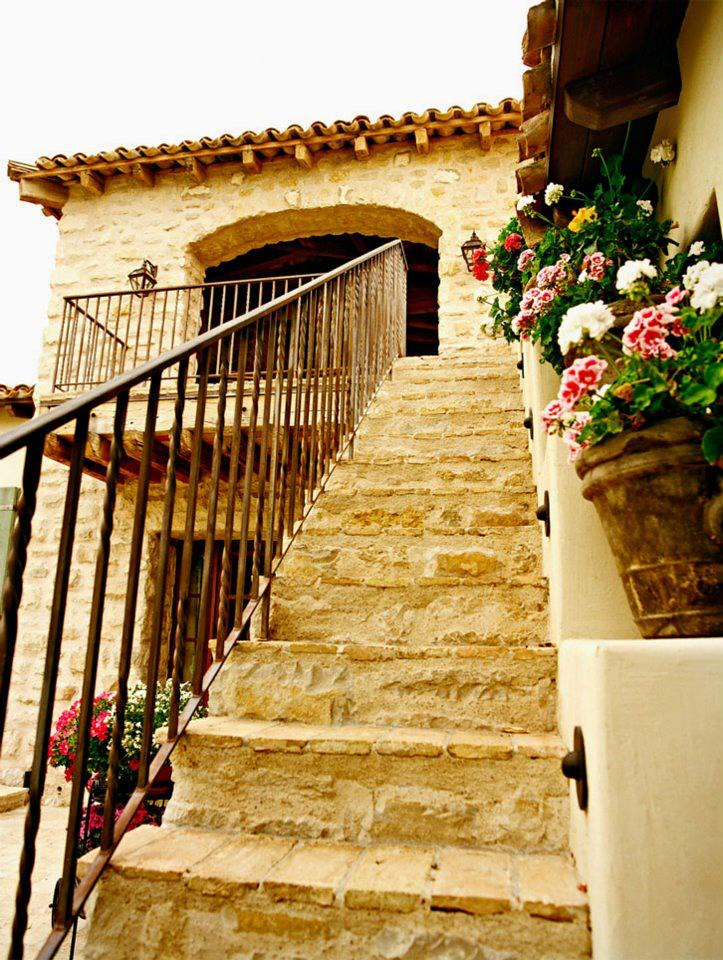 La casa azul decoracion cartagena official solange linhares flickr - Fotos de escaleras rusticas ...