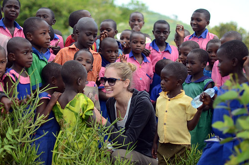 Boys and girls from Uganda | by Chiara Ferragni