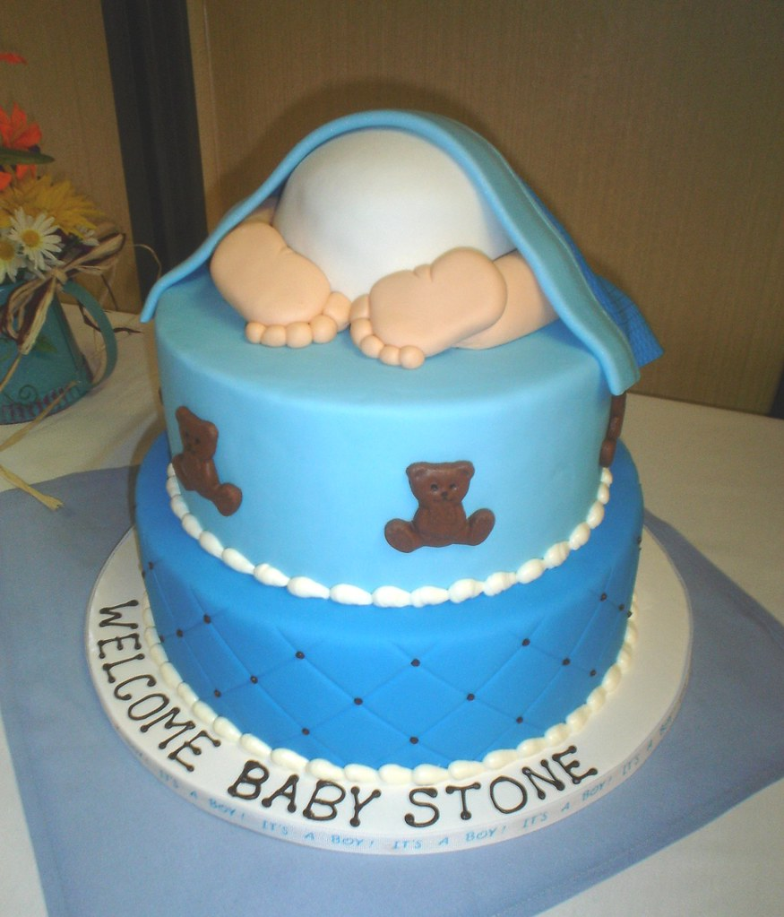 Images Of Newborn Baby Boy Cake : Baby Boy Rump Cake I was never a big fan of this design ...