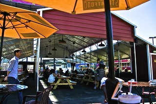 under cover at StreatFood Park San Francisco | by Fuzzy Traveler