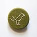 olive brooch bird