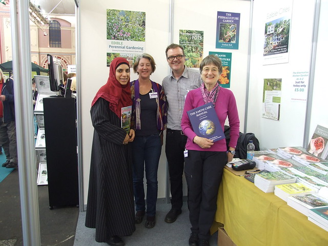 Permaculture Ambassadors on a stall