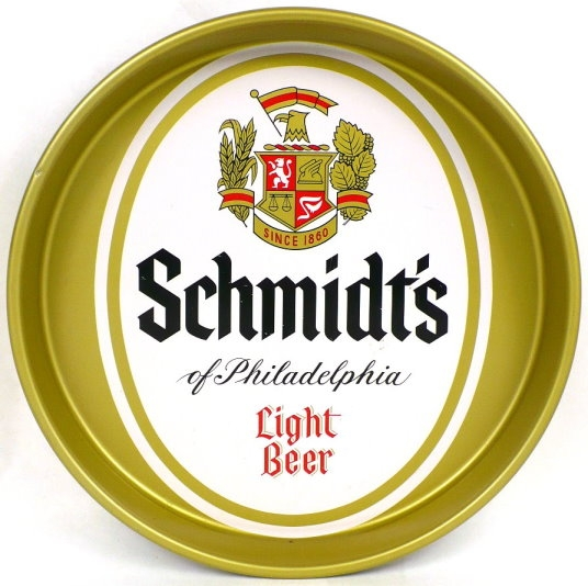 Schmidts-Of-Philadelphia-Light-Beer-Serving-Trays-10-16-inches-C-Schmidt-amp--Sons-Inc