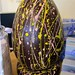 Giant chocolate easter egg