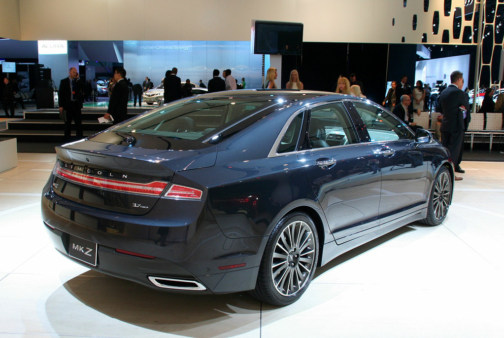 2013 Lincoln Mkz 3 7 Awd The Range Topping 3 7l Awd