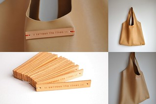 Leather tote | by // Between the Lines //