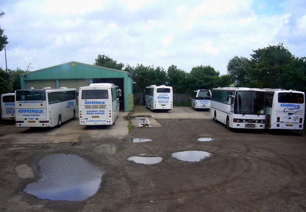 Gillies Coaches Depot Aylesham, Kent | Gillies Coaches Depot… | Flickr