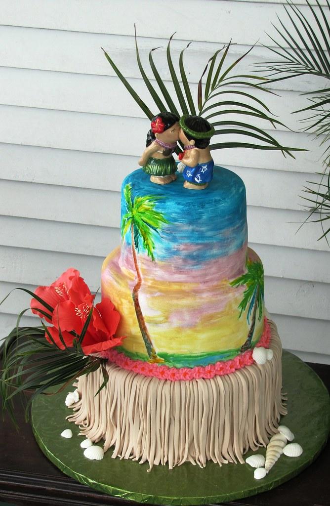 Hawaiian Wedding Cake Icing