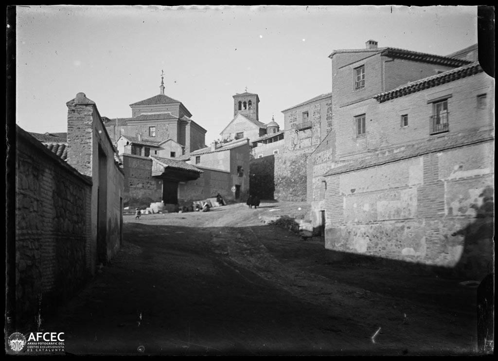 Alamillos del Tránsito en Toledo a comienzos del siglo XX. Autor Desconocido   © Centre Excursionista de Catalunya