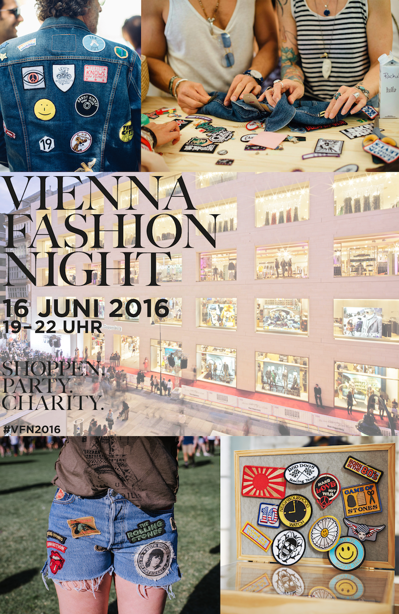 Vienna Fashion Night Collage