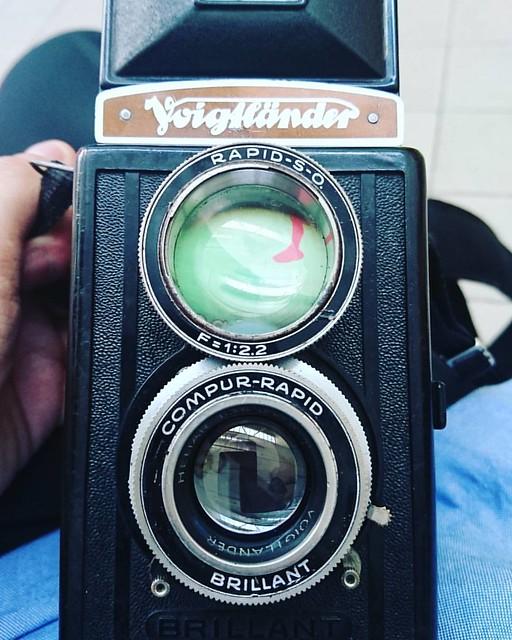voigtlander brillant heliar 7.5cm之幻燈色影