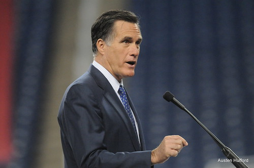 Romney Speaks in Detroit | by Austen Hufford