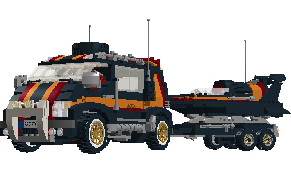 B And B Towing >> Lego Model Team Nr. 5581 Magic Flash - Overhaulled | Flickr