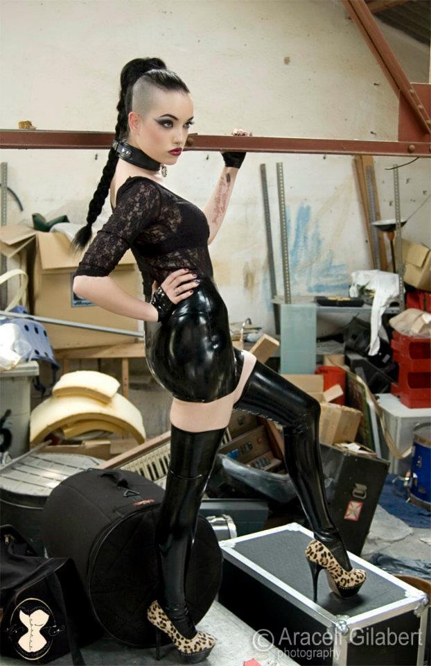 Dominatrix | Modelo/Model : Rocio Ciarán Maquillaje y