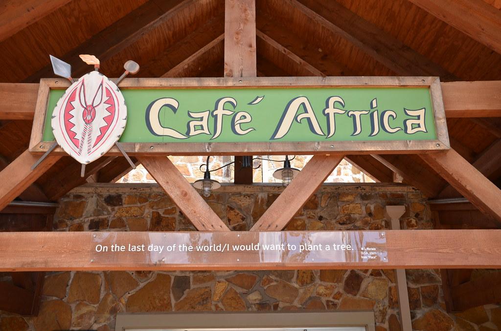 Little Rock Zoo  Little Rock Arkansas  Cafe Africa