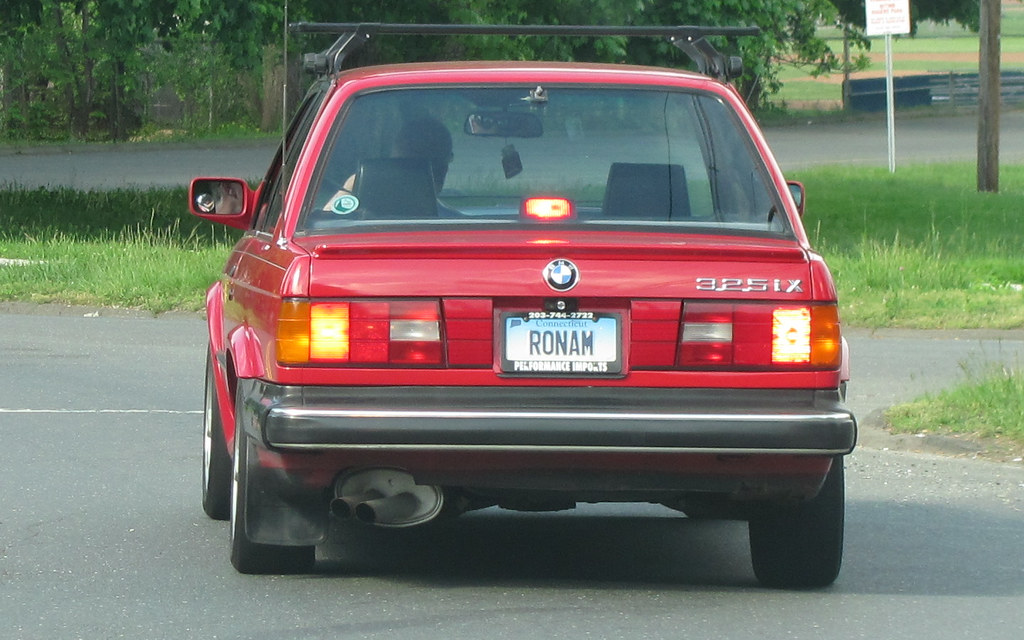 Ronam Connecticut Vanity License Plate Ronam