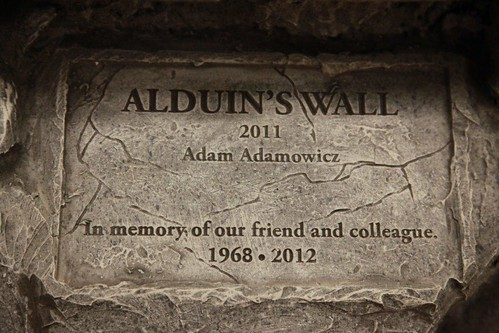 Adam Plaque | by Bethesda Blog