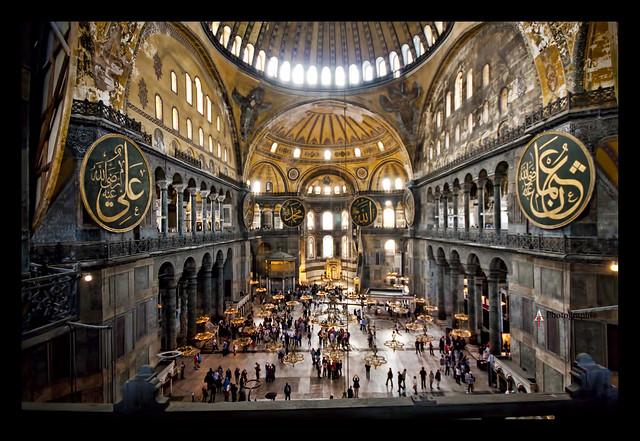 A l int rieur de sainte sophie istanbul inside hagia for A l interieur movie