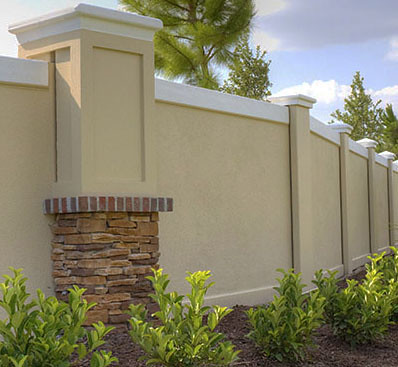Masonry Screen Walls Precast Concrete Fencing Dallas Houst