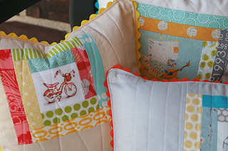 Heather Ross Pillows | by Fresh Lemons : Faith