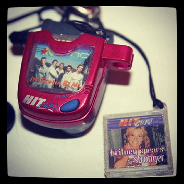 90s Music Toys : In the s kids played portable music on hitclips lil