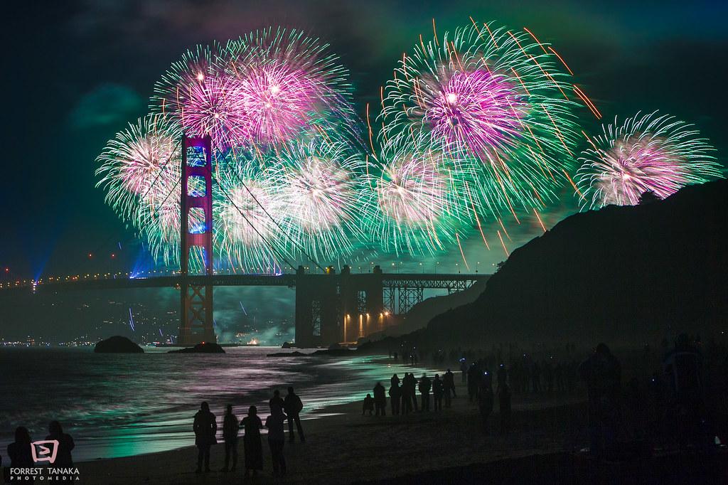 Golden Gate Bridge 75th Anniversary Celebration | Forrest ...