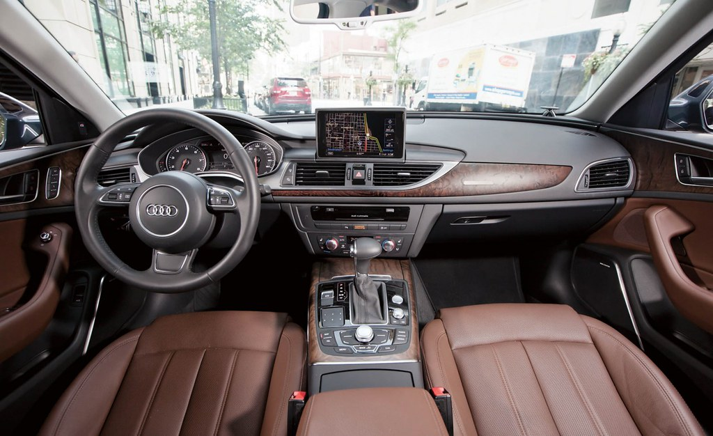 2012 Audi A6 Nougat Brown Interior 2 2012 Audi A6 3 0t