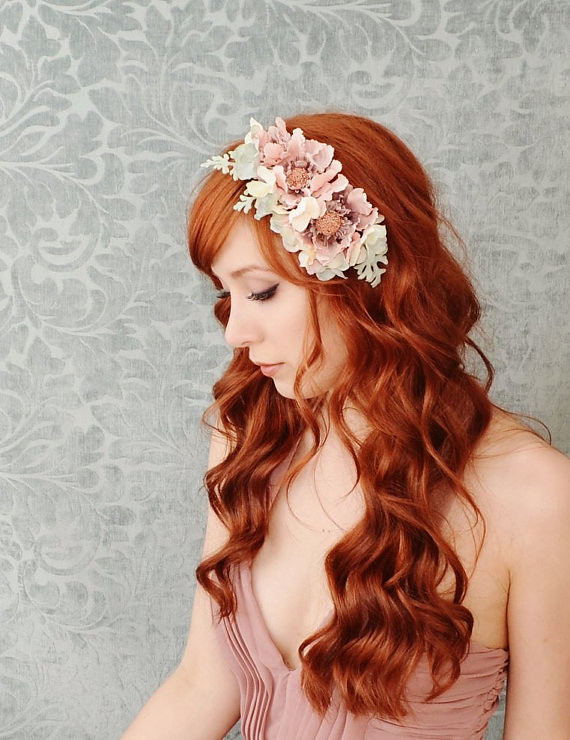 wedding headbands combs flowers