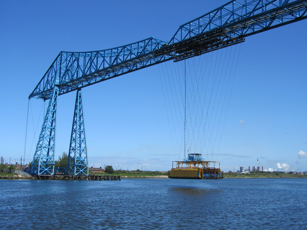 Middlesbrough Transporter Bridge Painting For Sale