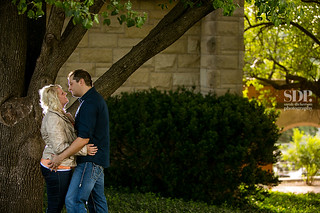 Lawrence Kansas engagement photography | by SarahDickersonPhoto