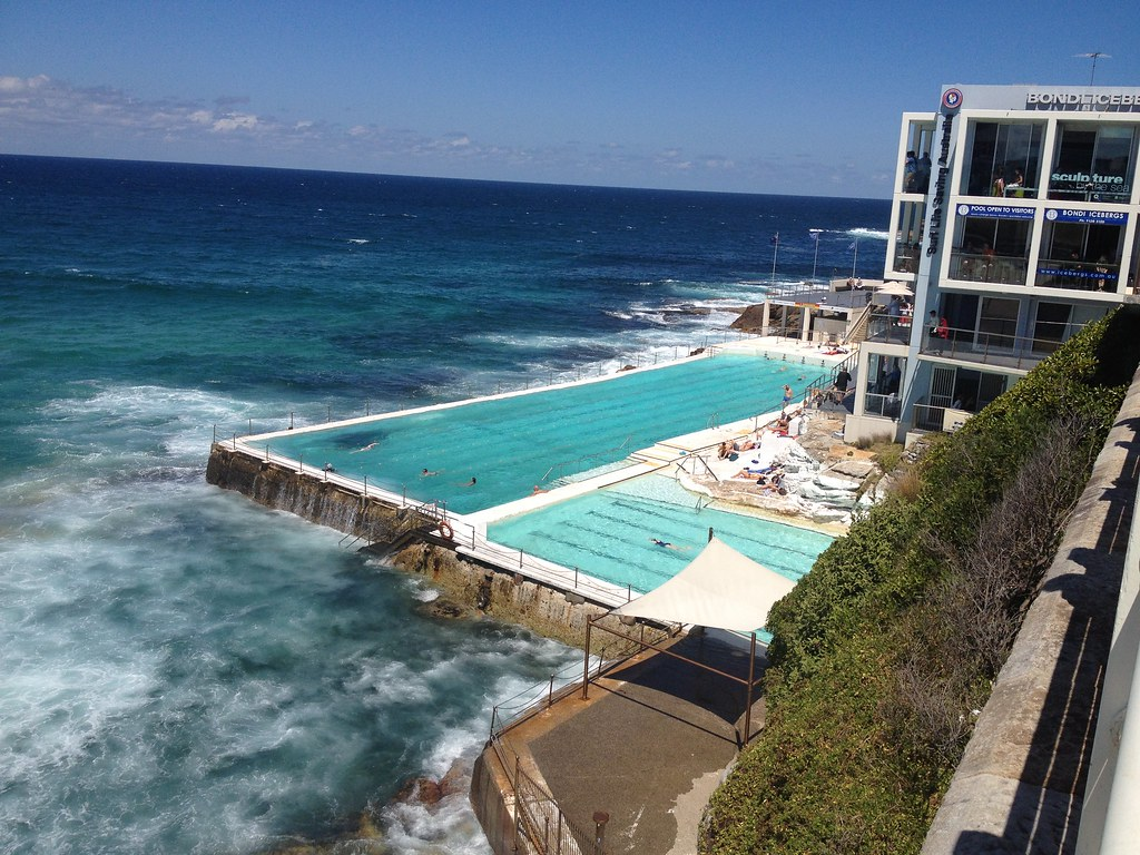 Bondi Beach Swimming Pool Bondi Beach Sydney Sylvia Hoogenbosch Flickr