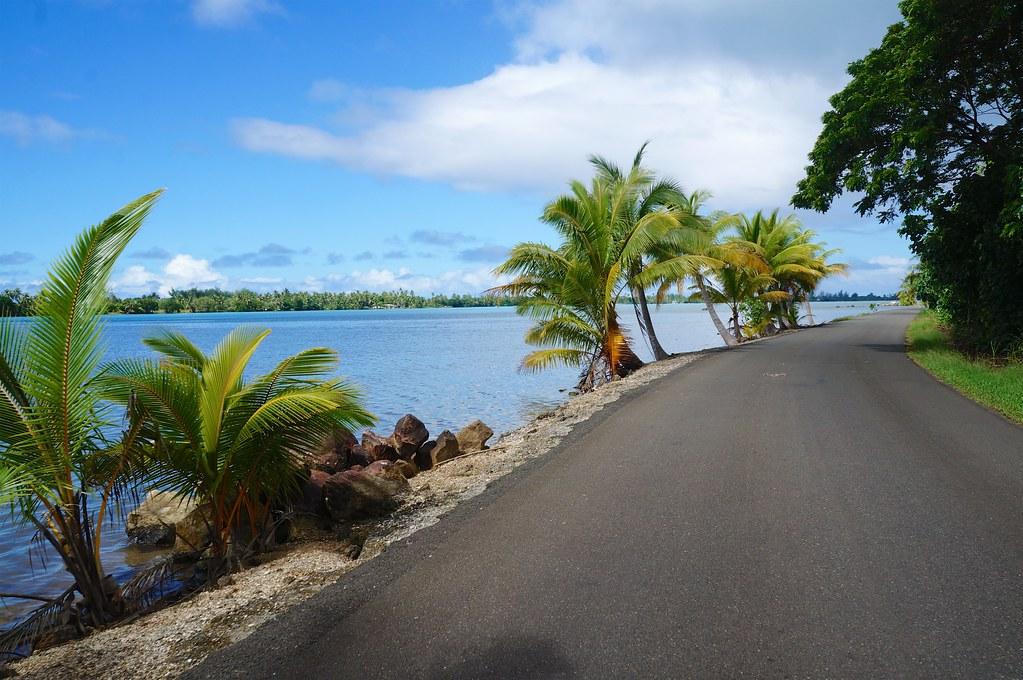 Route to Huahine Iti