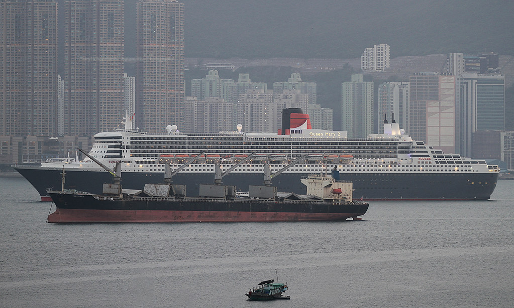 Rms queen mary 2 tseung kwan o hong kong very cool for Queen mary fishing report