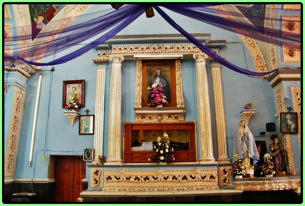 Templo san bernab temoxtitla santa clara ocoyucan puebla for Academy for salon professionals santa clara