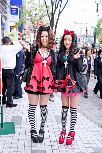 Shibuya Girls in Bows | by tokyofashion