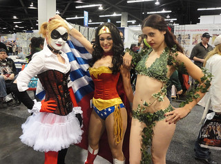 Harley Quinn, Wonder Woman, & Poison Ivy | by 1derwoman