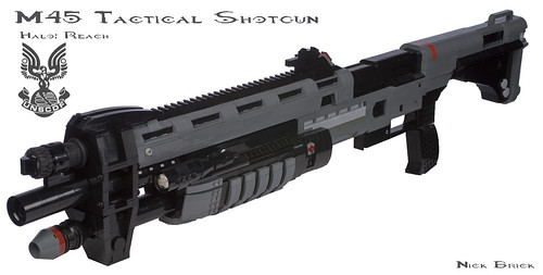 Halo Reach M45 Tactical Shotgun | by Nick Brick