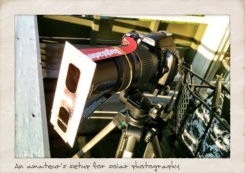 Transit camera setup