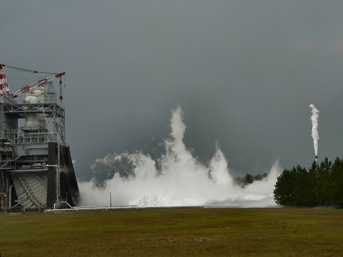 J-2X Powerpack Test Sets Record (NASA, J-2X, SLS, 06/08/12) | by NASA's Marshall Space Flight Center