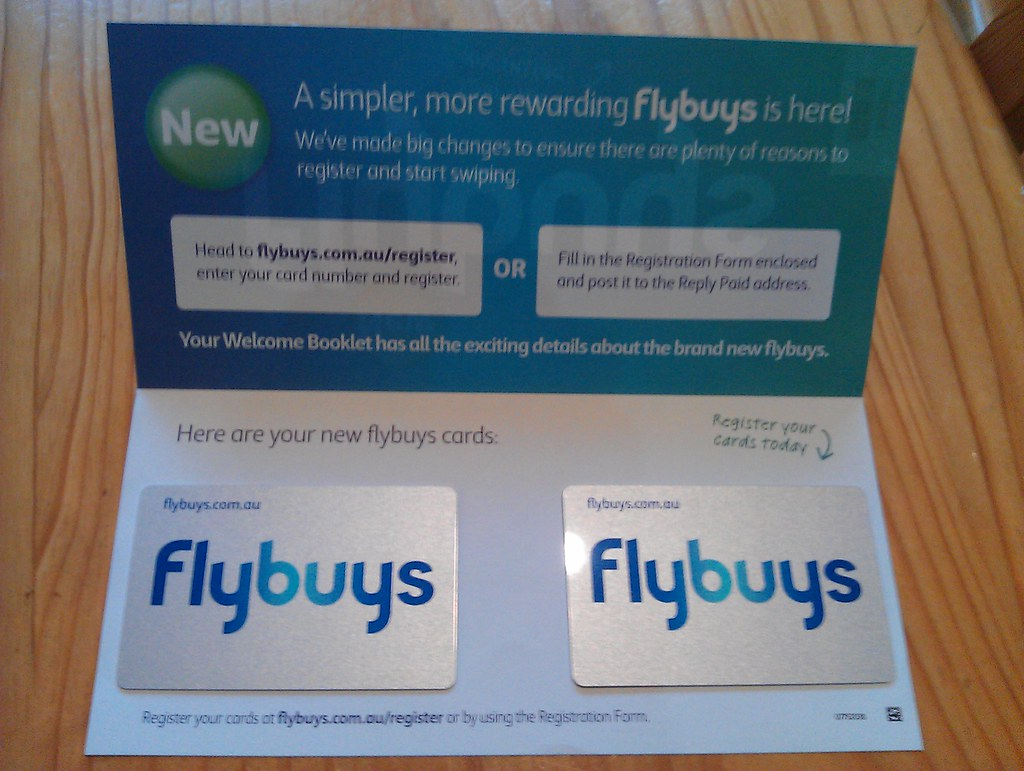 how to get new flybuys card