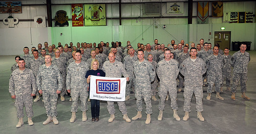 Kellie Pickler Memorial Day USO Tour 2012 | by The USO