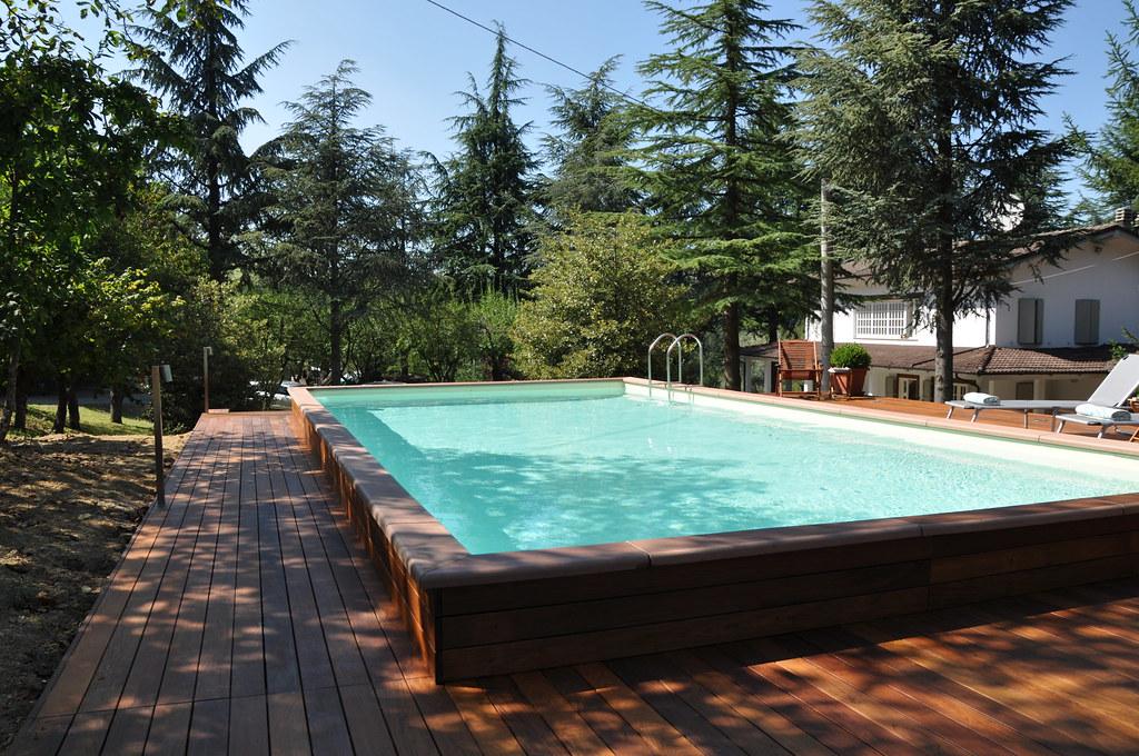 dv country legno 4x8 1 piscina laghetto dolcevita. Black Bedroom Furniture Sets. Home Design Ideas