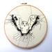 """Embroidery Owl 8"""" Hoop"""