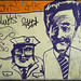 Graffiti in Geneva: caricature