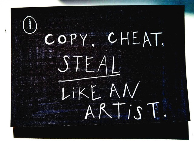 Paul Downey. Cheat Like an Artist, https://www.flickr.com/photos/psd/13914714006/