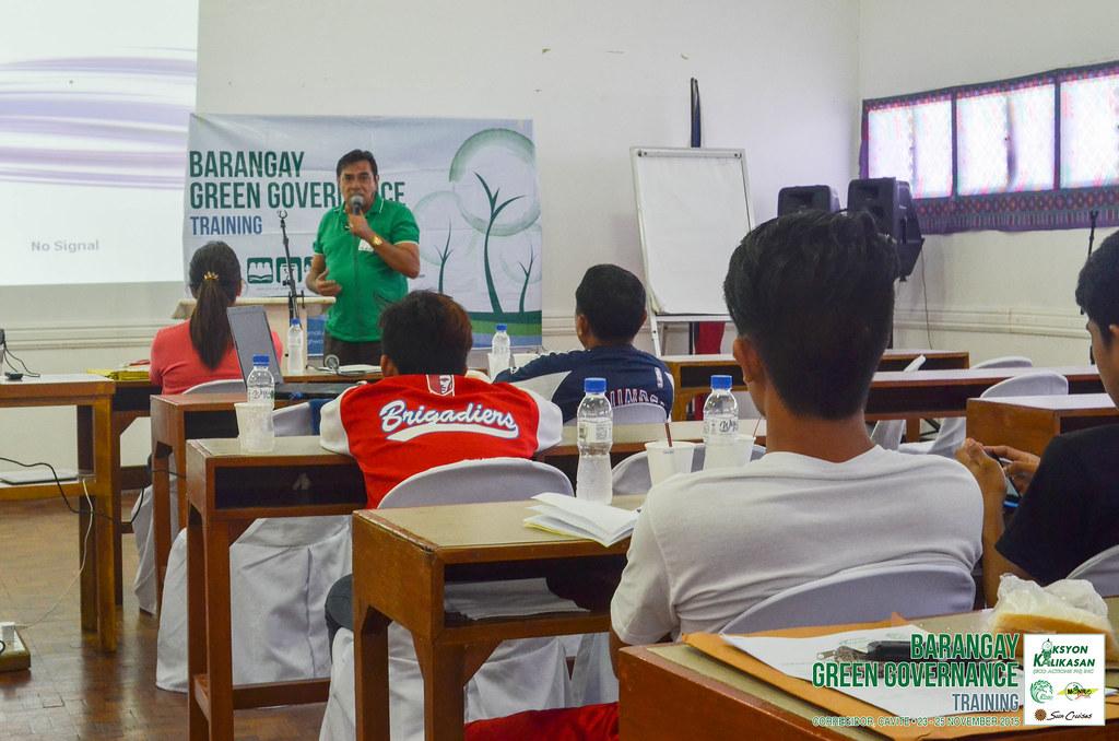 Aksyon Kalikasan | Barangay Green Governance - Mayor Walter Echevarria Jr