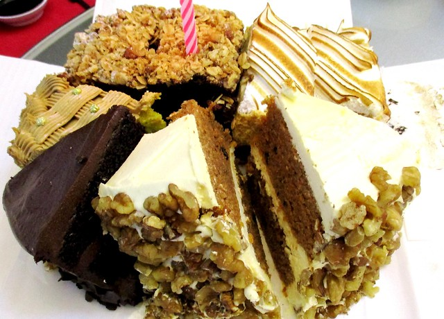 Cakes from Cedele, Singapore
