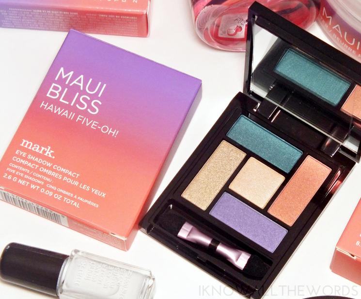 mark maui bliss hawaii five-oh! eyeshadow palette (2)