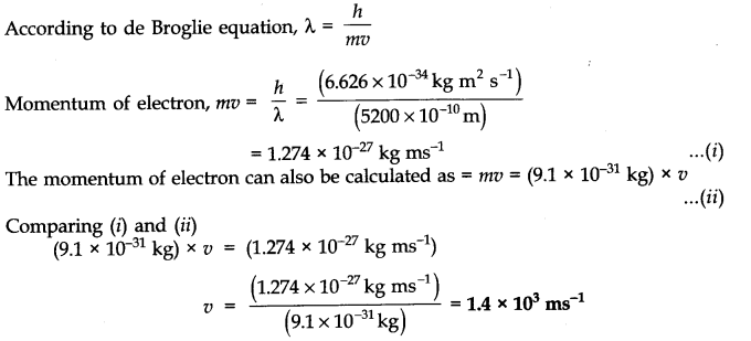 Structure of atom solutions for class 11th cbse chemistry ncert solutions for class 11 chemistry chapter 2 structure of atom 6 question 4 ccuart Choice Image